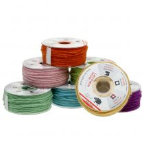 Colored wool cord 3mm 100m