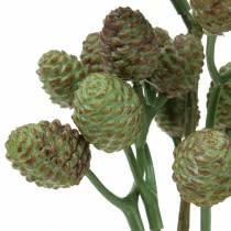 Cone branch green 33cm