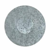 Decorative plate zinc plate Ø35cm