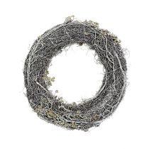 Branch wreath Ø30cm white