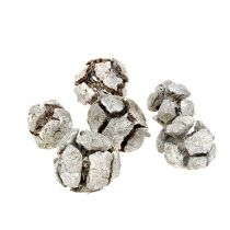 Cypress cones 3cm white washed 500g