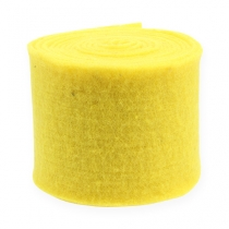 Felt tape yellow 15cm 5m
