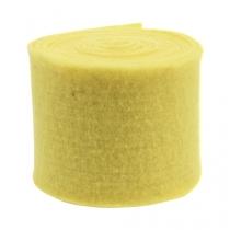 Felt tape light yellow 15cm 5m