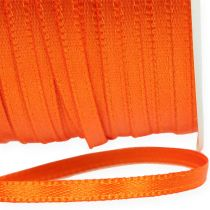 Gift and decoration ribbon 3mm 50m orange