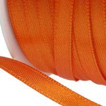Gift and decoration ribbon 6mm x 50m orange