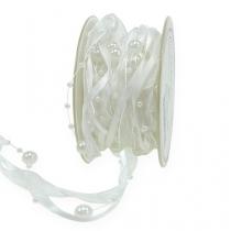 Wedding ribbon white 20mm 5m