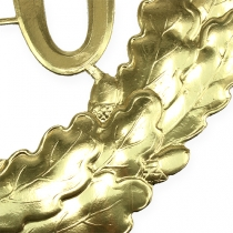 Anniversary number 70 in gold Ø40cm
