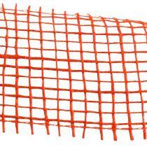Jute ribbon orange 5cm 40m