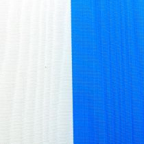 Wreath ribbons moiré blue-white
