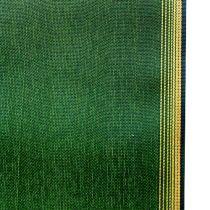 Wreath ribbon moiré dark green