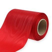 Wreath ribbon red 125mm 25m