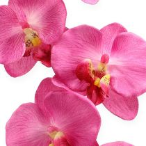 Artificial orchid with leaves Pink 68cm
