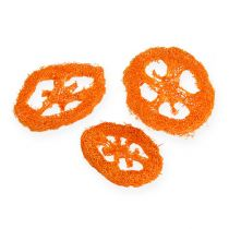 Luffa slices orange 25pcs