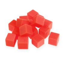 Wet foam mini-cube red 300p