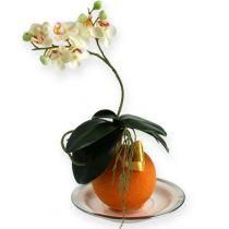 Floral foam balls orange 9cm 4pcs
