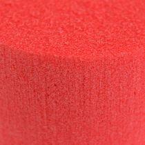 Plug dimensions cylinder Ø8cm red 6pcs