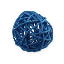Rattan ball light blue, blue, dark blue 30pcs.