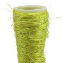 Sisal pointed vase light green Ø3.5cm L40cm 5pcs