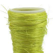 Sisal bag light green Ø4.5cm L60cm 5pcs