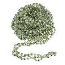 Decorative garland mint green 2.65m
