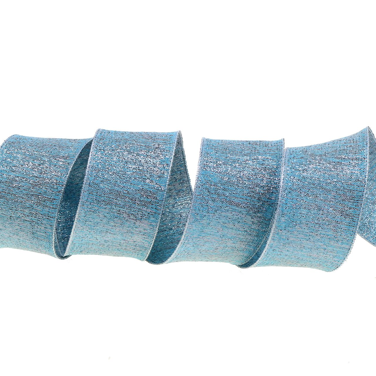 Decorative ribbon with mica 40mm 20m