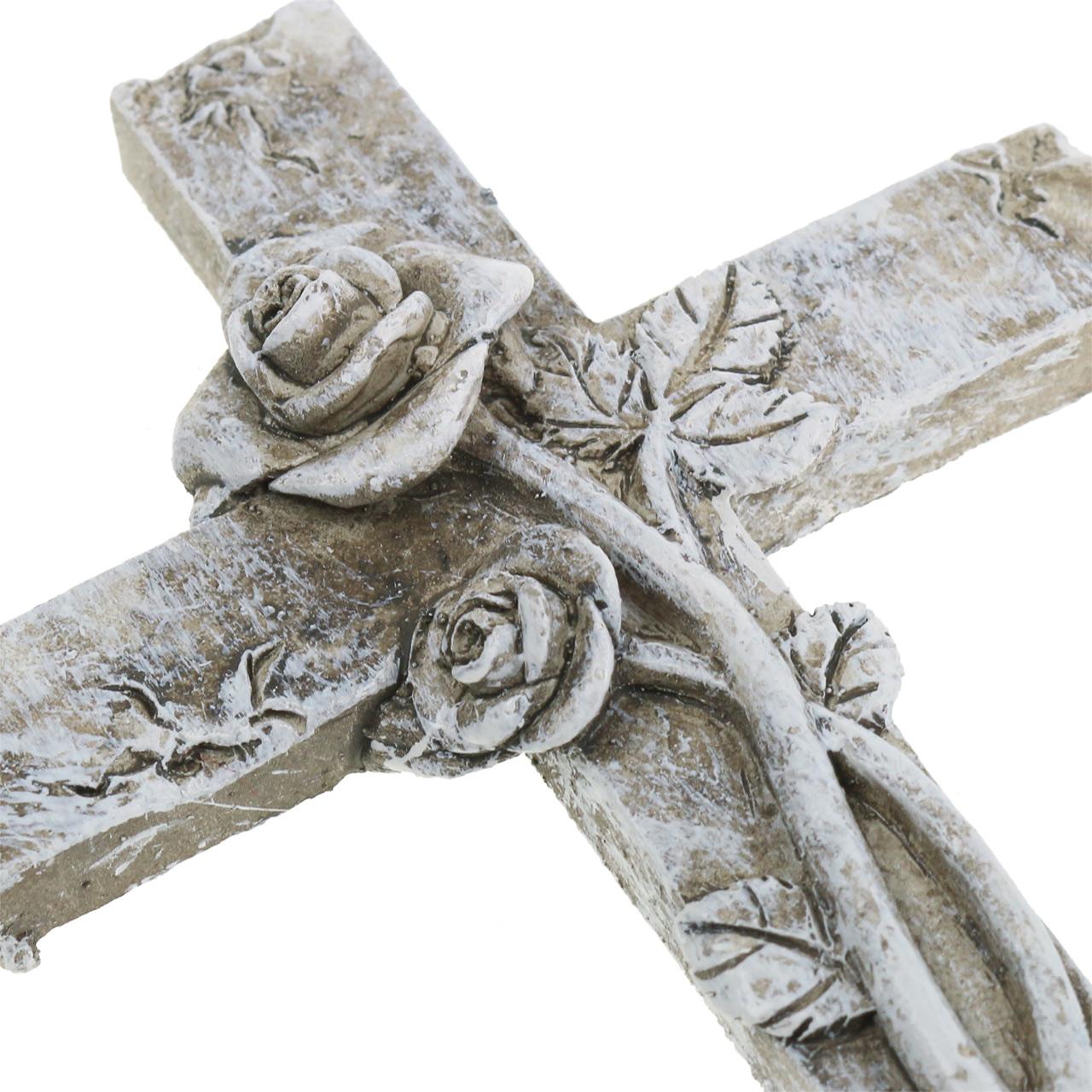 Grave decoration cross 7.5cm x 11cm 4pcs