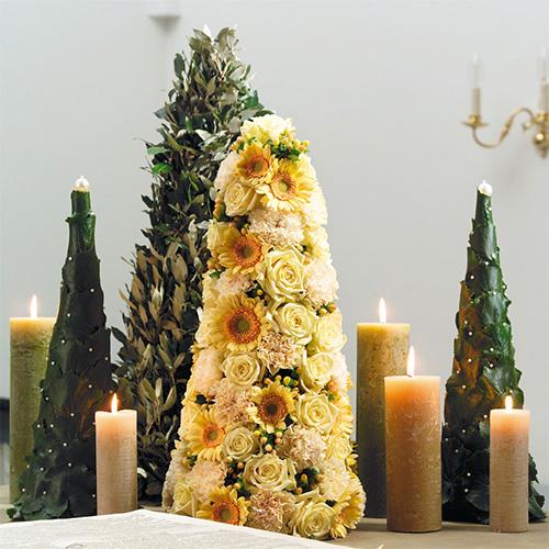 Floral foam in cone shape H50cm Ø15cm 2pcs