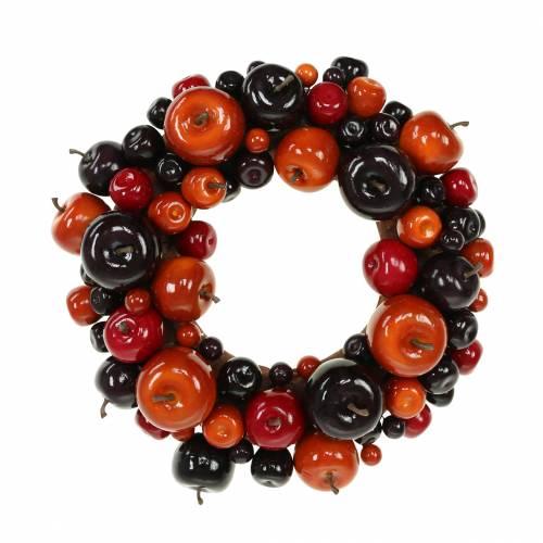 Decorative wreath apple Ø26cm