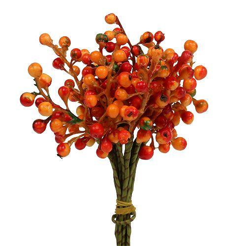 Berry bunch orange L20cm