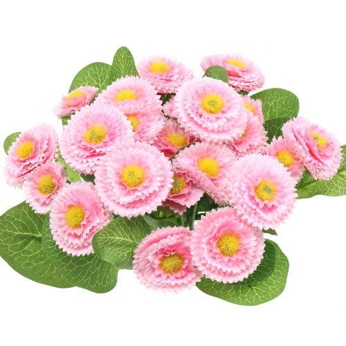 Bellis bunch light pink 24cm 4pcs