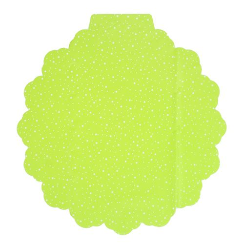 Flower cuff Ø48cm green 50pcs