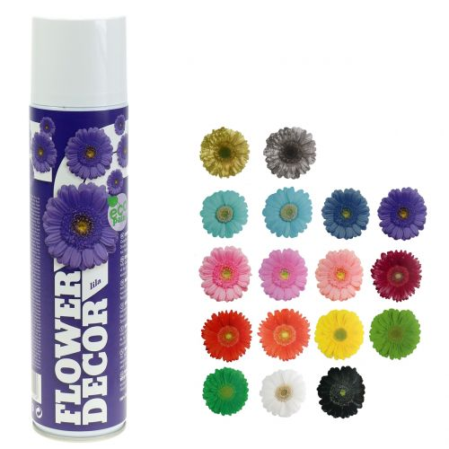 Flower Decor flower spray different colors 400ml