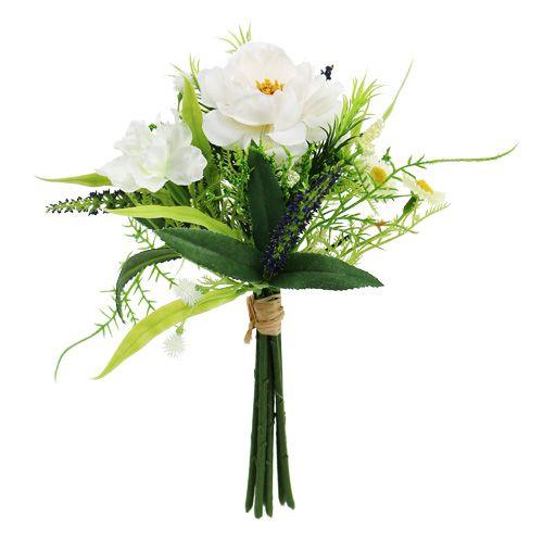 Bouquet white 20cm