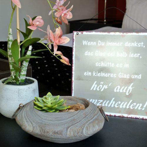 Decorative bowl Paulownia wood 23cm x 21cm H9cm