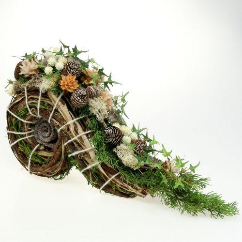 Planter for grave decoration 22cm x 40cm 1p