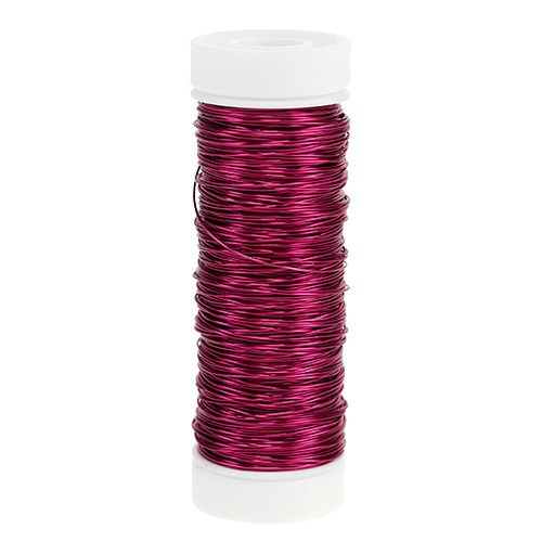 Decorative lacquer wire Ø0.30mm 30g / 50m pink