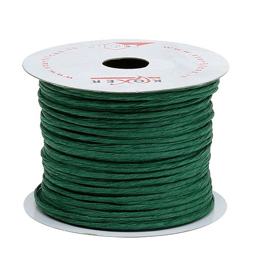 Wire wrapped around 50m green
