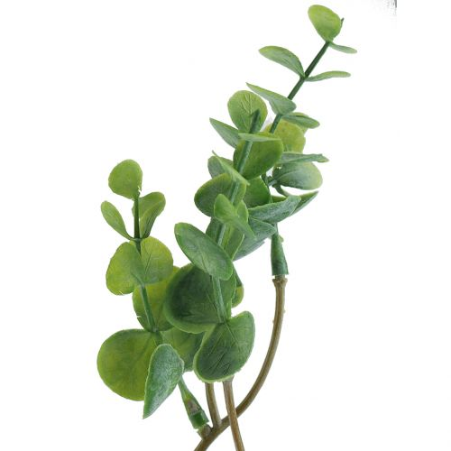 Eucalyptus branch artificial green 37cm 6pcs