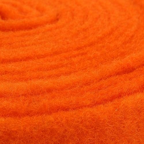 Felt ribbon orange 7.5cm 5m