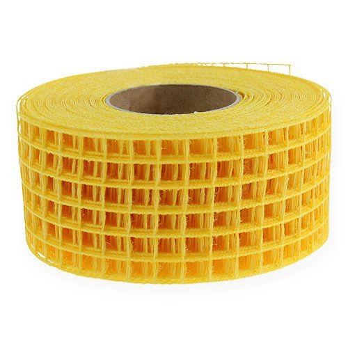 Grid tape 4.5cm x 10m yellow