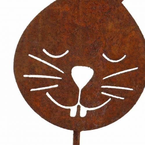 Hasenkopf metal plug rust H52.5cm