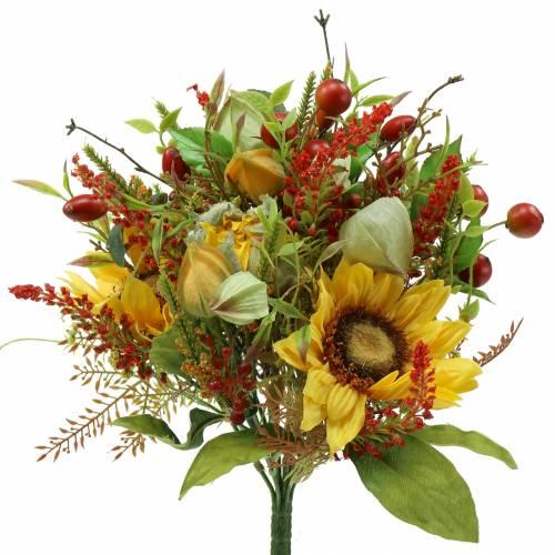 Bouquet of autumn sunflower Ø30cm