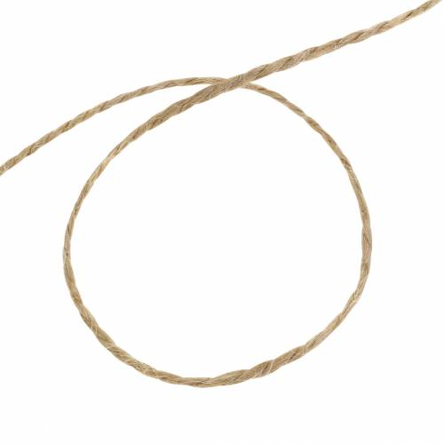 Versatile jute cord natural 1mm 200m 1p