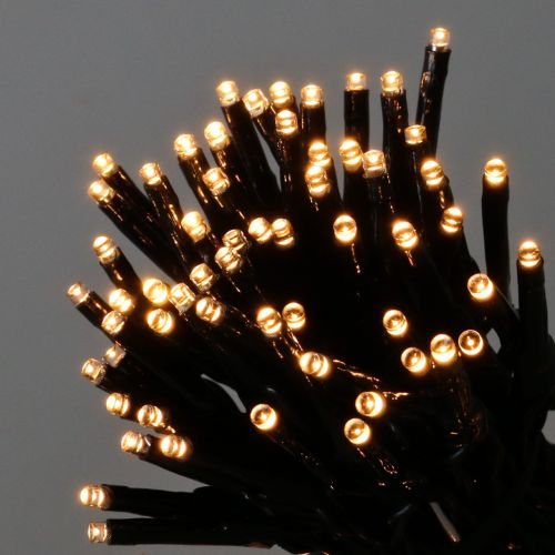 LED rice light chain for outside 480er 36m black / warm white