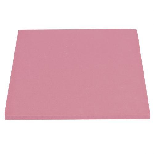 Floral foam designer panels plug-in size old pink 34.5cm × 34.5cm 3pcs