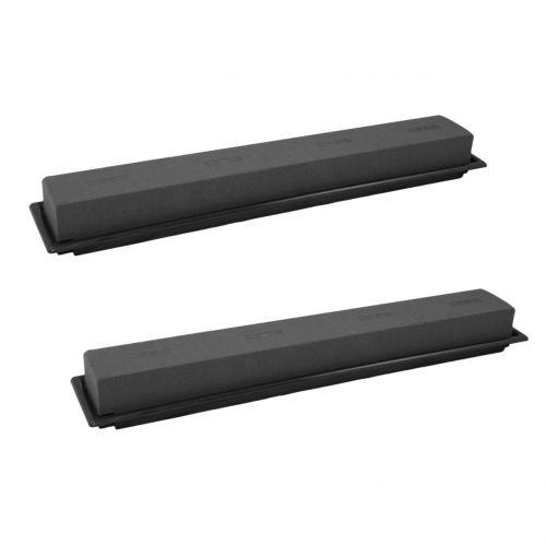 Plug size table decoration plug foam black 48cm 4pcs