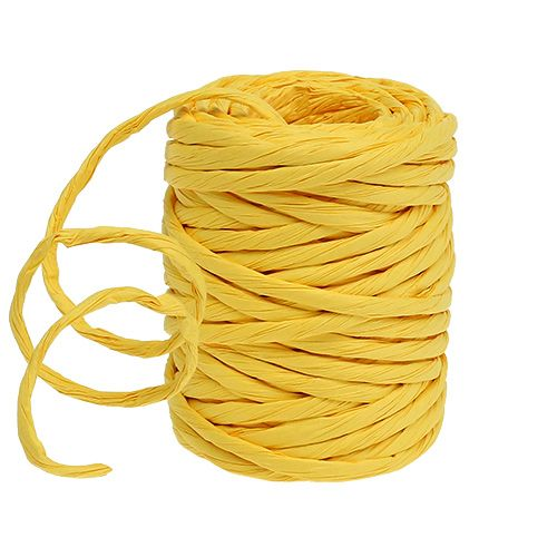 Paper cord 6mm 23m yellow