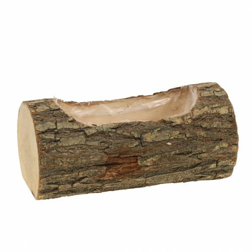Planter made of elm wood 20cm x 11cm H9cm