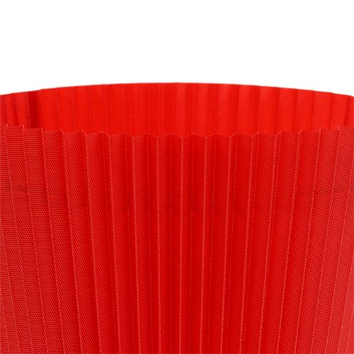 Pleated cuffs red 8.5cm 100pcs.