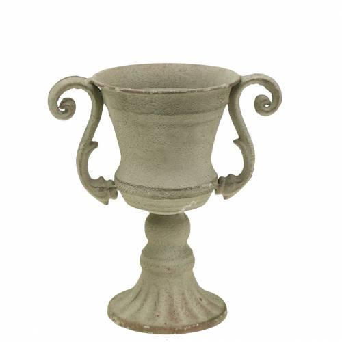 Cup bowl gray Ø11cm H19cm